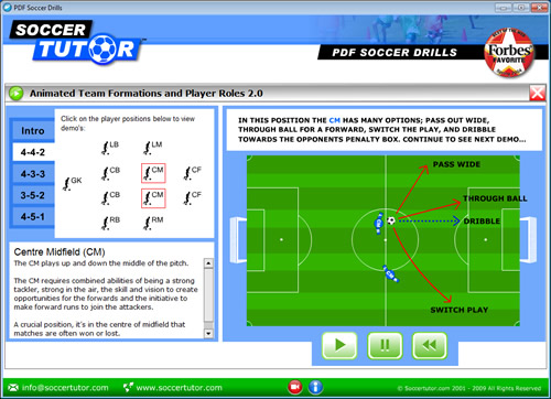 PDF Soccer Drills Software
