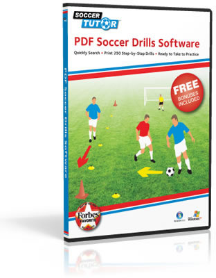 250 Award Winning Soccer Drills Software
