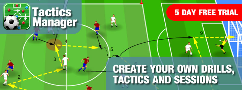 Tactics Manager Software - Create Practices, Plan Sessions
