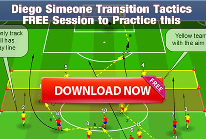 Diego Simeone Transition Tactics and Session
