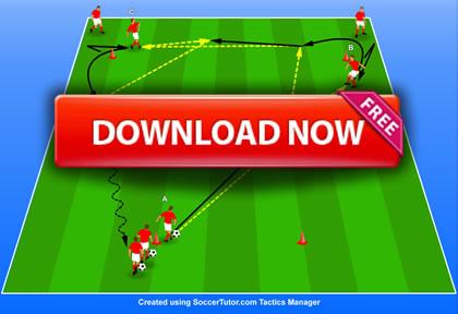 Louis van Gaal - Bayern Munich Passing Practice