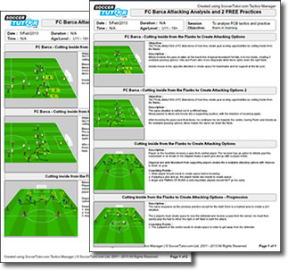 Tactics Manager Soccer Coaching Software - Create your own Practcies ...