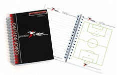 Football Coaches Session A6 Notepad